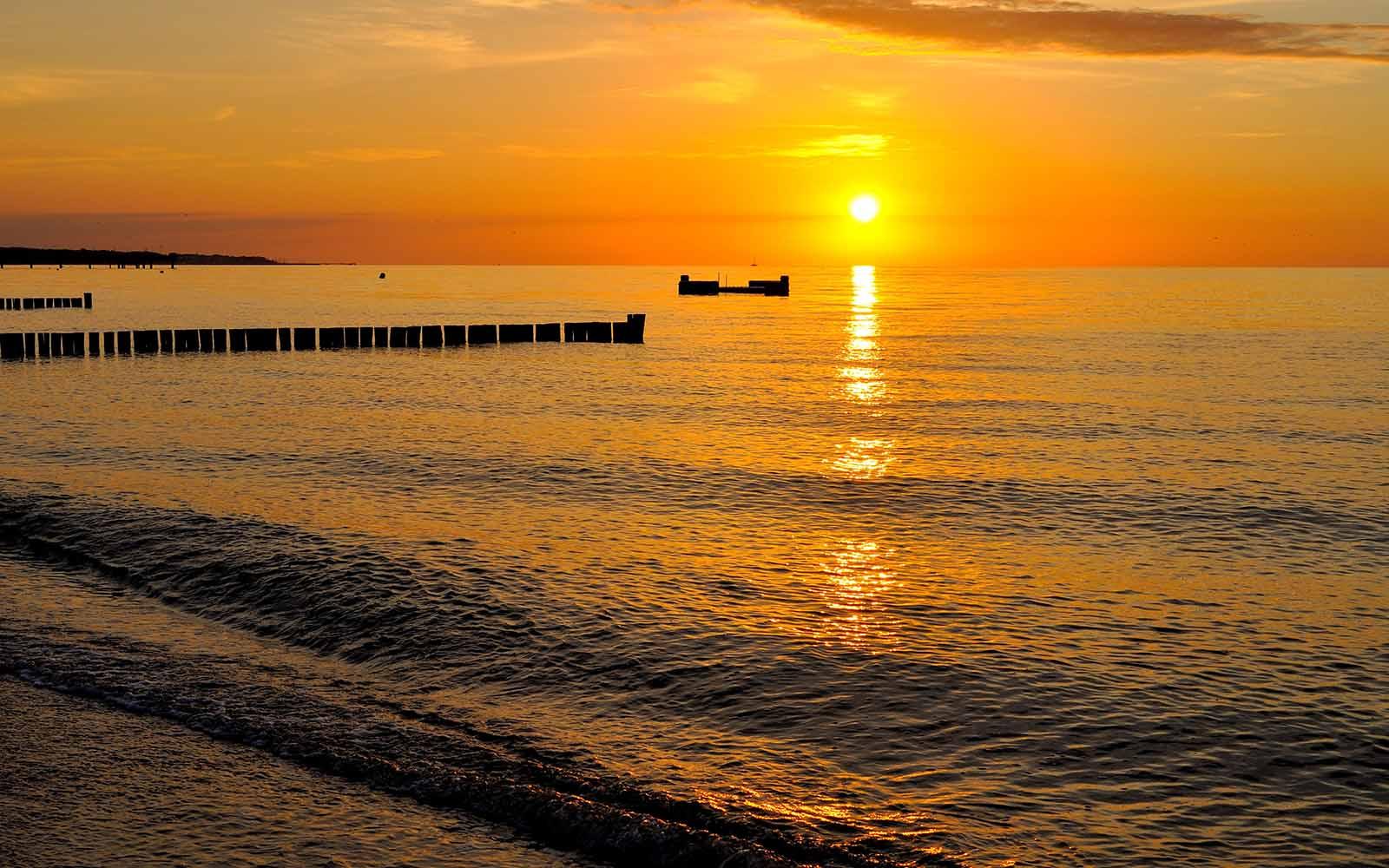 Cudowne zachody słońca